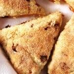 Snickerdoodle Scones with Cinnamon Chips @crunchycreamysw