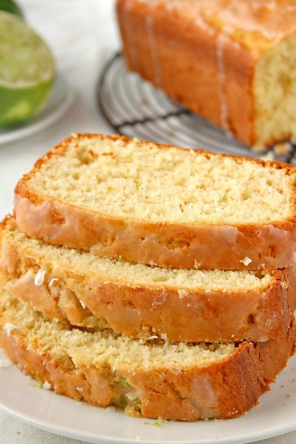 Glazed Loaf Cake with Coconut and Lime a Coconut Lime Loaf Cake