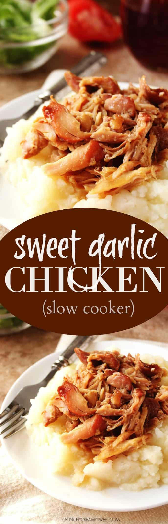 sweet garlic chicken long Slow Cooker Sweet Garlic Chicken