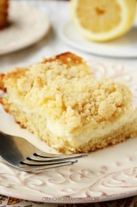 Lemon Crumb Cake 199x300 Lemon Blueberry Coffee Cake