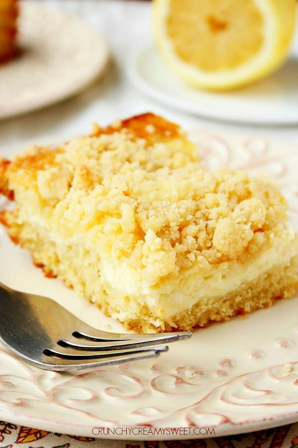 Lemon Crumb Cake A Lemon Cream Cheese Crumb Cake