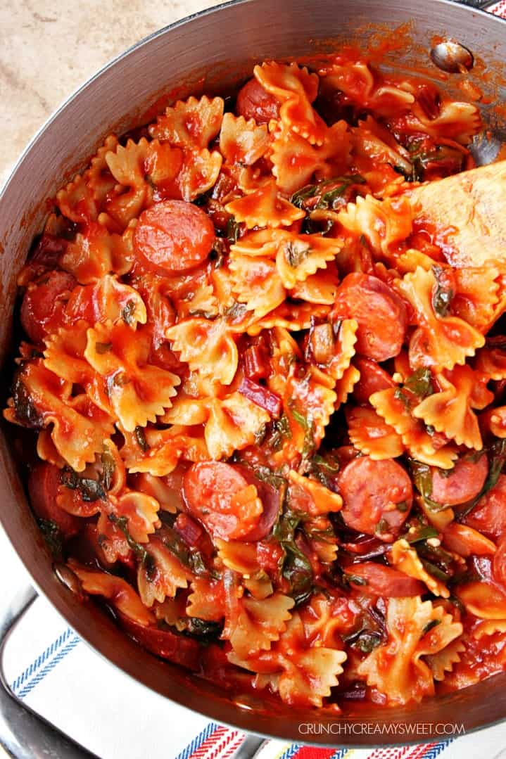 ... pasta with sausage and spinach sausage and kale pasta bake pasta sauce