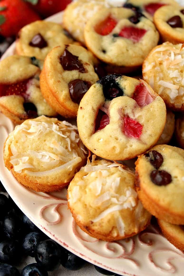 mini pancake muffins 3 Mini Pancake Muffins