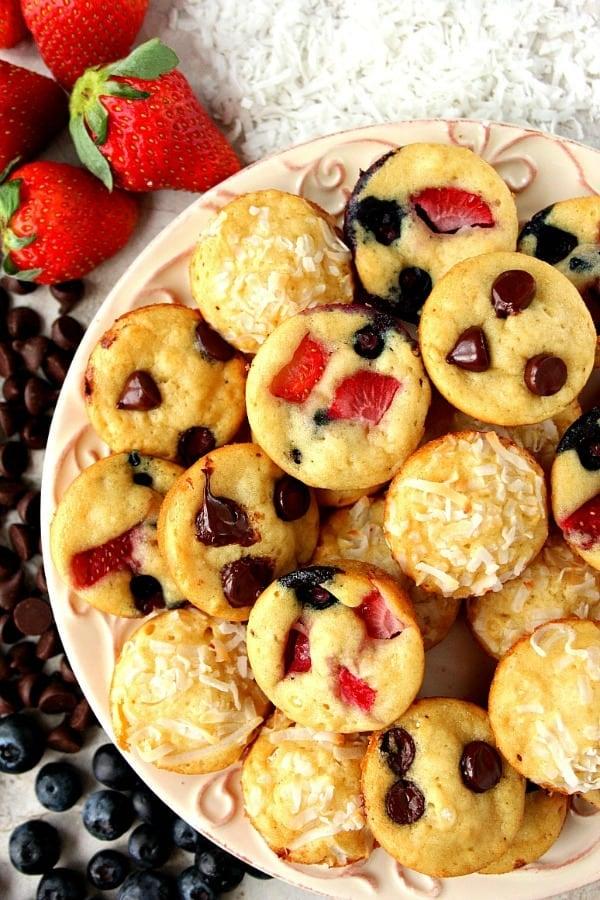 mini pancake muffins a Mini Pancake Muffins