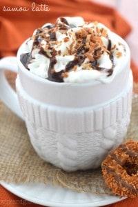 samoa latte 200x300 60+ Mothers Day Brunch Recipes