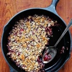 Gluten free Mixed Berry Crisp healthy version of a classic dessert. crunchycreamysweet.com 150x150 Gluten Free Berry Crisp