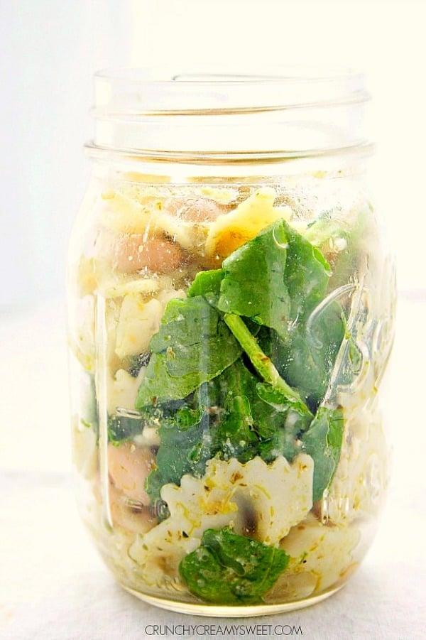 pesto pasta salad B Pesto Pasta Salad