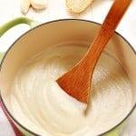 Healthy Cauliflower Alfredo Sauce @crunchycreamysw 150x150 Roasted Garlic Cauliflower Alfredo Sauce Recipe Card