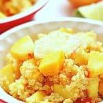 Mango Peach Quinoa Salad a 150x150 Mango Peach Quinoa Salad