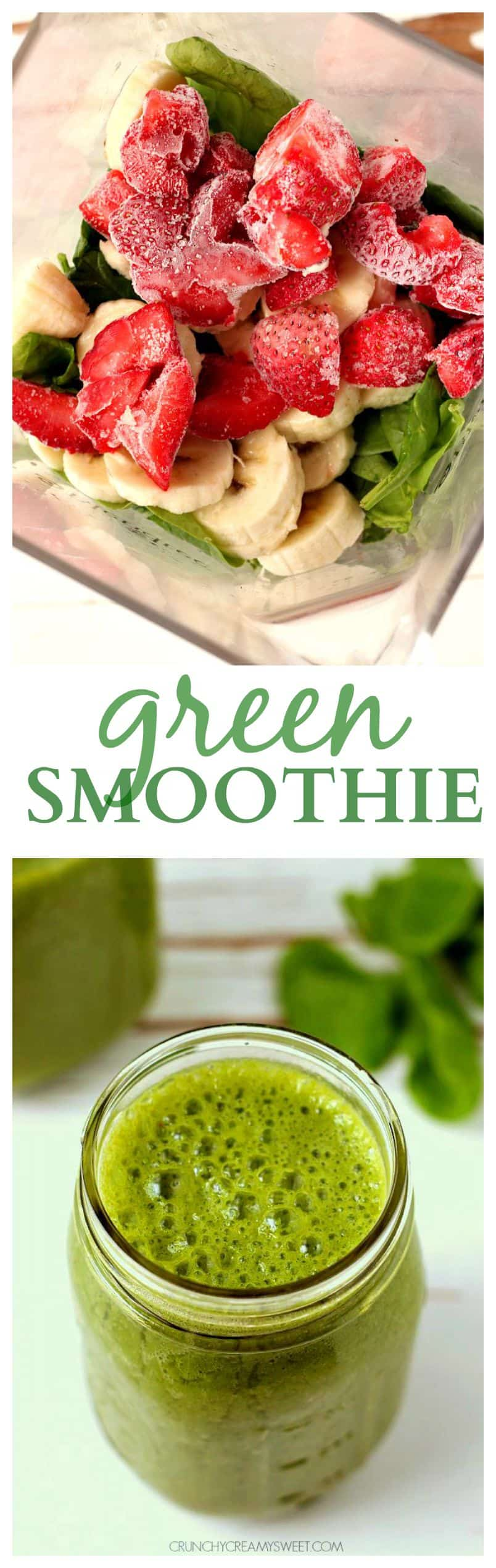 My favorite green smoothie 7 Green Smoothie