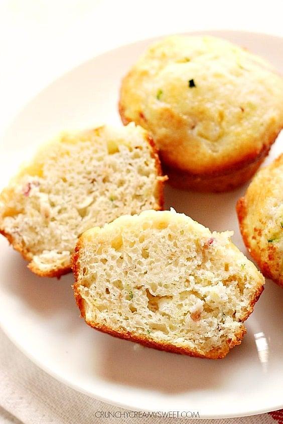 apple zucchini muffins B Apple Zucchini Muffins