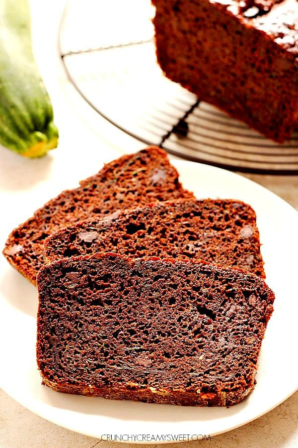chocolate zucchini bread A Quick Chocolate Zucchini Bread