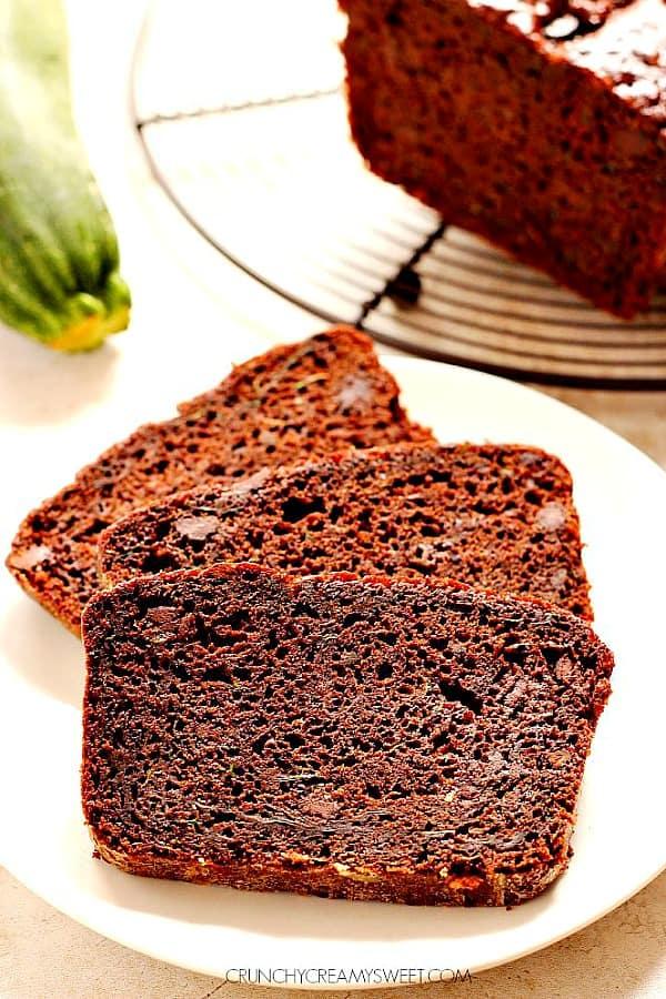 chocolate zucchini bread A Quick Chocolate Zucchini Bread