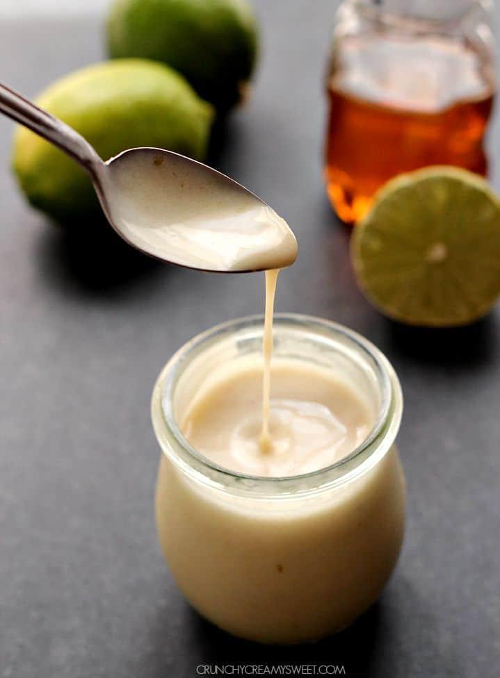 honey lime dressing A Honey Lime Dressing