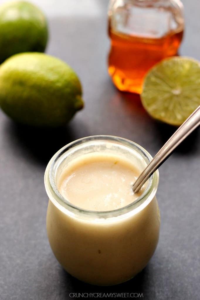 honey lime dressing B 682x1024 Crunchy Honey Lime Chicken Recipe