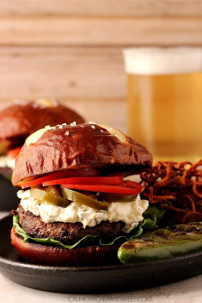 jalapeno popper burger 3 Jalapeno Popper Burger