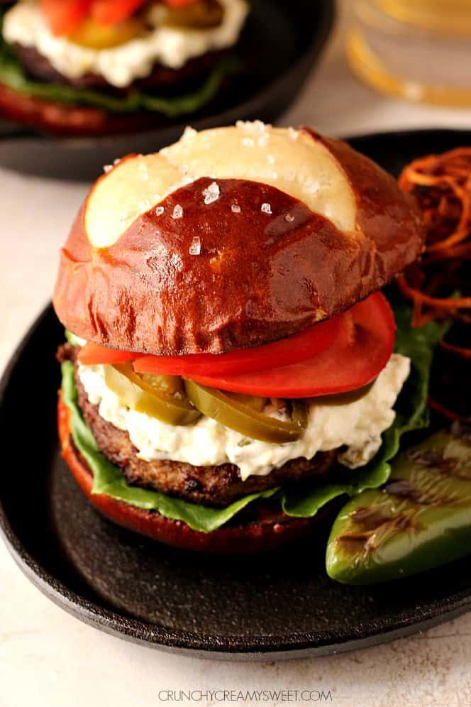 jalapeno popper burger 4 Jalapeno Popper Burger