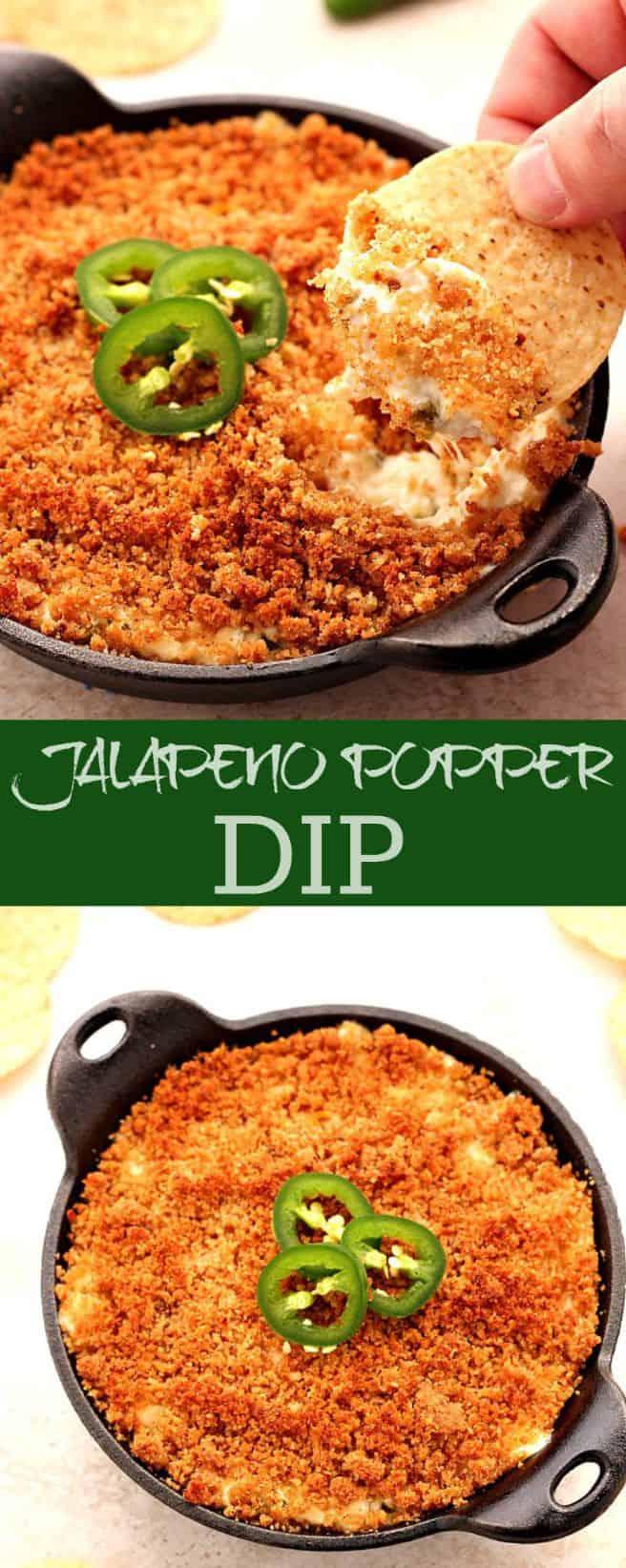 jalapeno popper dip long Jalapeno Popper Dip