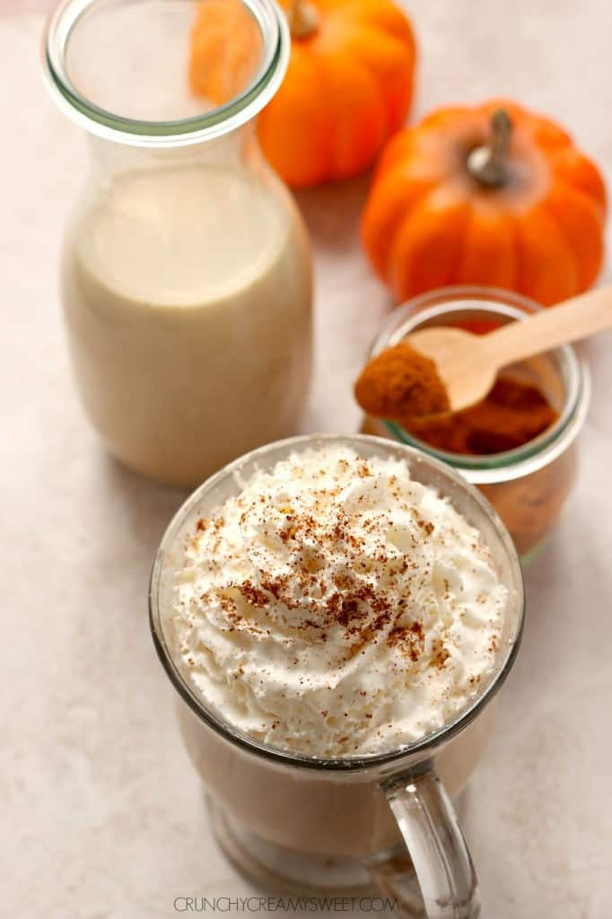 pumpkin spice coffee creamer 3 682x1024 Homemade Pumpkin Spice Coffee Creamer