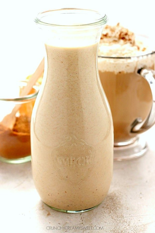 pumpkin spice coffee creamer a Homemade Pumpkin Spice Coffee Creamer