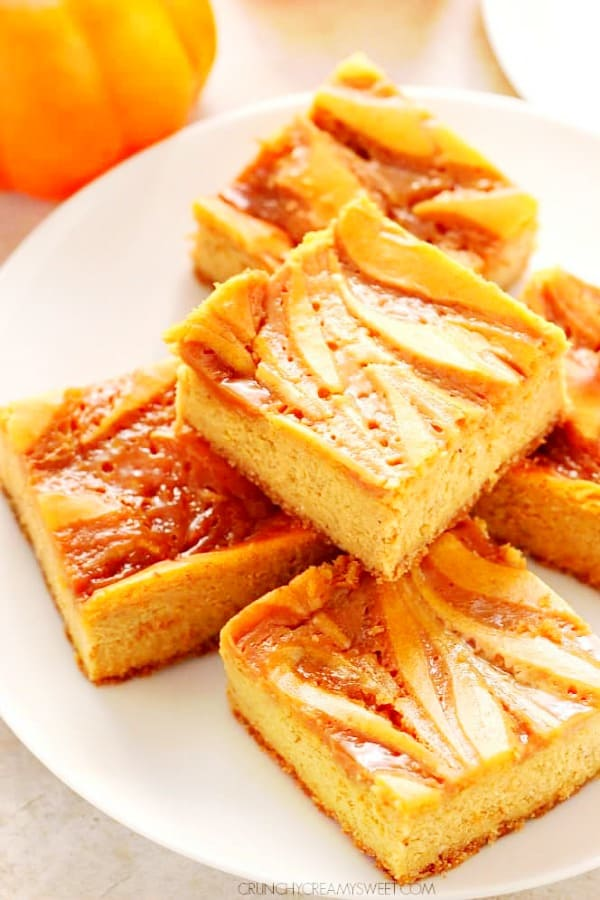 pumpkin cheesecake bars A Pumpkin Cheesecake Bars