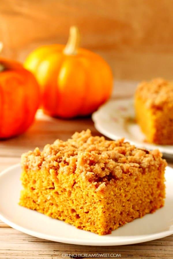 pumpkin coffee cake A Pumpkin Coffee Cake