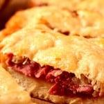 easy reuben cheesy bread