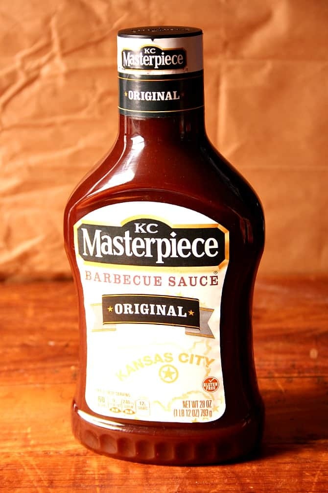 kc masterpiece bbq sauce The Best Slow Cooker Pulled Pork