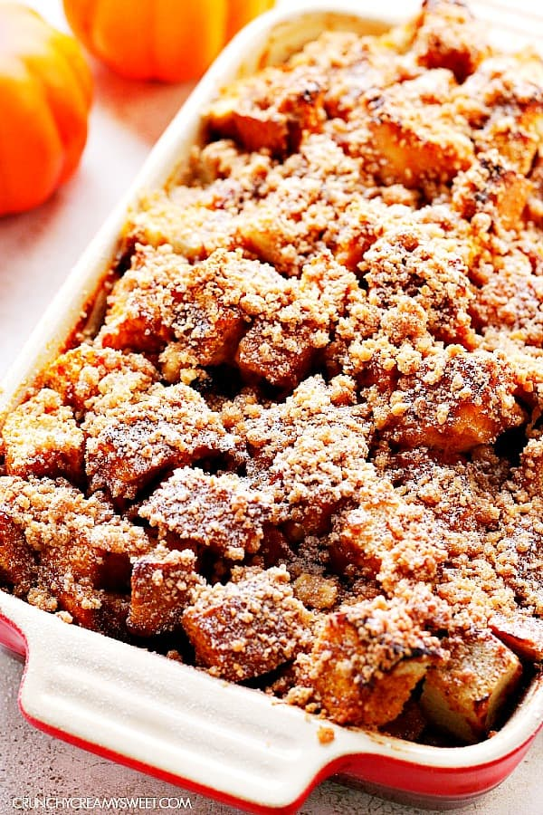 pumpkin French toast bake A Pumpkin French Toast Casserole