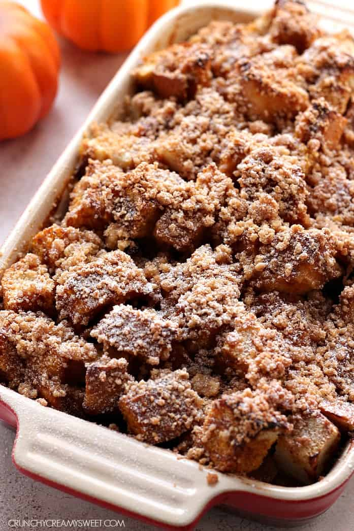 pumpkin french toast 4 The Best Pumpkin Coffee Cake