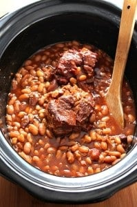 baked beans 2 199x300 Slow Cooker Baked Beans Recipe