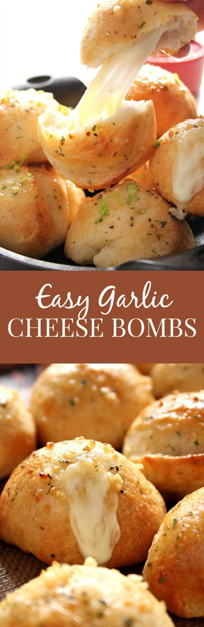 cheese bombs long Easy Garlic Cheese Bombs Recipe