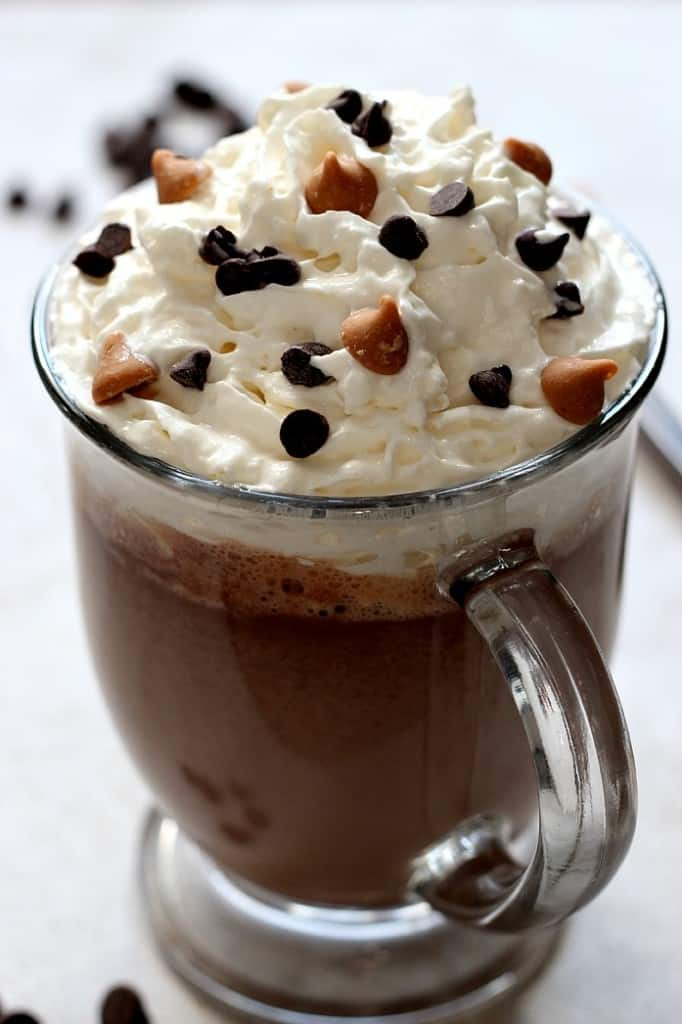 pb hot chocolate 1 682x1024 Peanut Butter Hot Chocolate Recipe