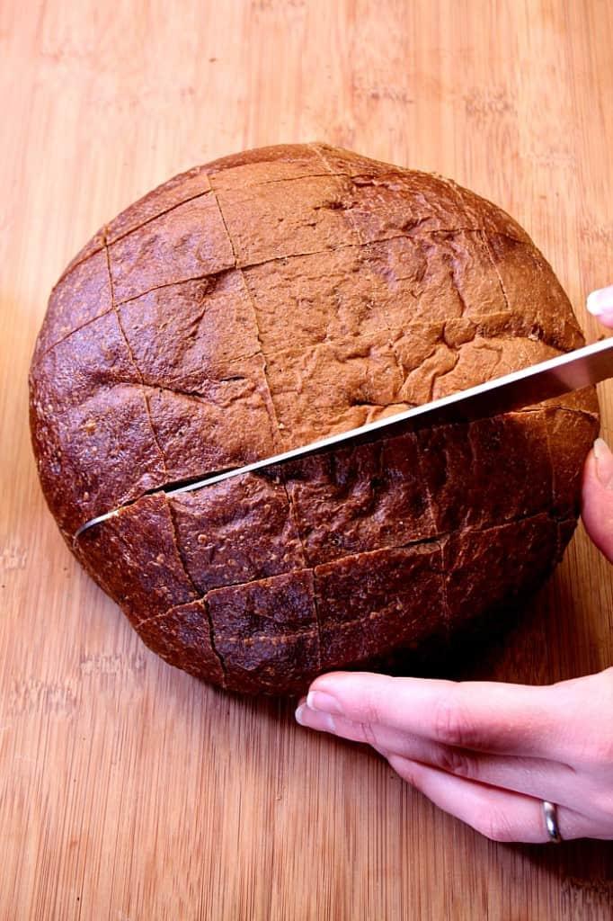 Easy Cheesy Reuben Pull Apart Bread Recipe - Crunchy ...