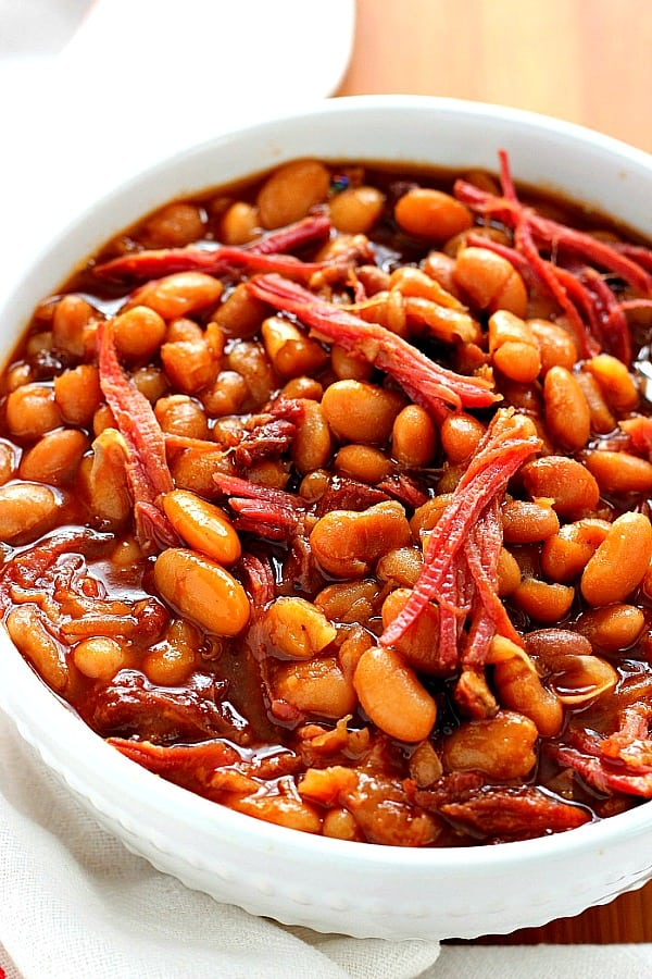 slow cooker baked beans A Slow Cooker Baked Beans