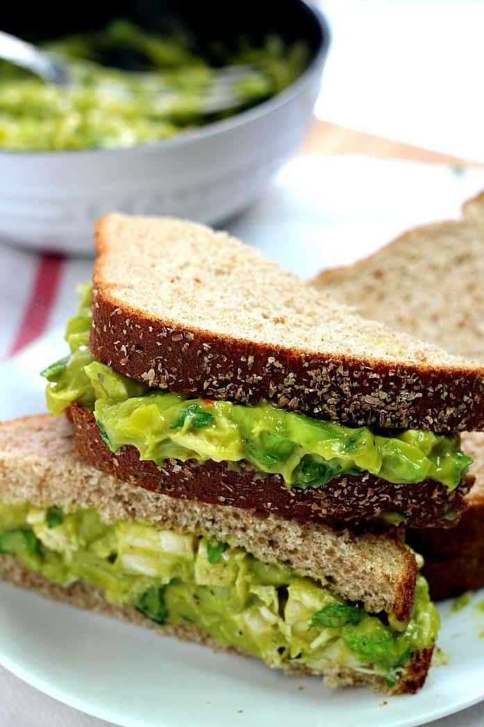 avocado salad 1 Guacamole Chicken Salad Recipe