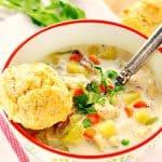 chicken pot pie soup Aa 150x150 Easy Chicken Pot Pie Soup