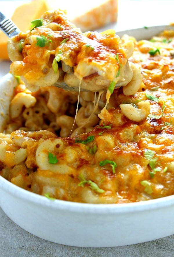 queso mac and cheese A Queso Mac and Cheese with Bacon Recipe