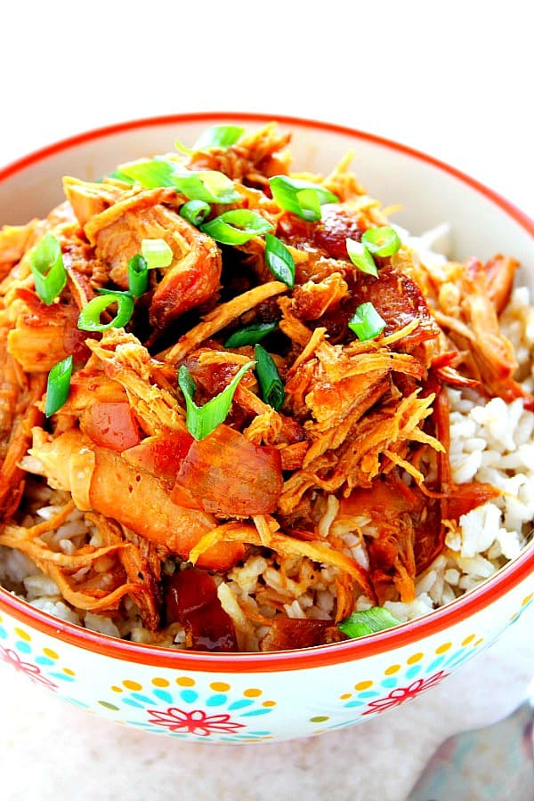 slow cooker teriyaki chicken B Best Slow Cooker Teriyaki Chicken