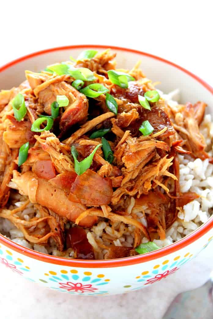 teriyaki chicken 3 Slow Cooker Sweet Garlic Chicken