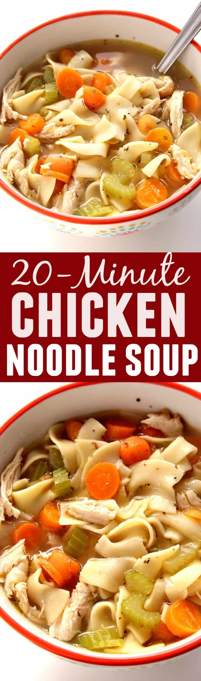 ... Quick and easy chicken noodle soup to beat the cold or just satisfy