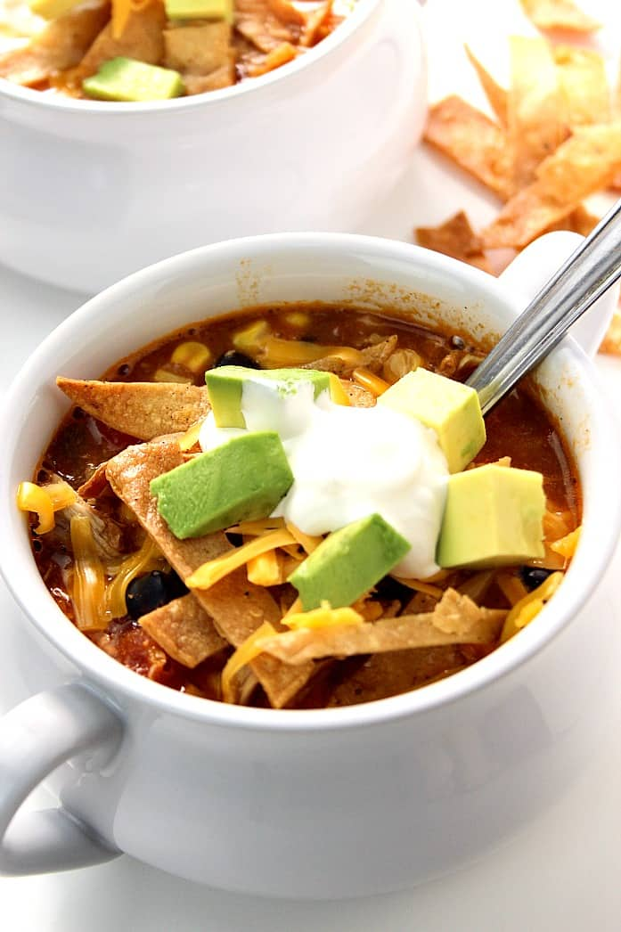 enchilada 6 20 Minute Chicken Enchilada Soup Recipe
