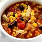 enchilda chicken soup a 150x150 20 Minute Chicken Enchilada Soup Recipe
