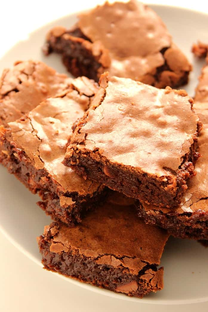 recipe: how to get flaky top on brownies [1]