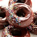Donuts with sprinkles.