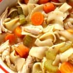 homemade chicken noodle soup 150x150 20 Minute Chicken Noodle Soup Recipe
