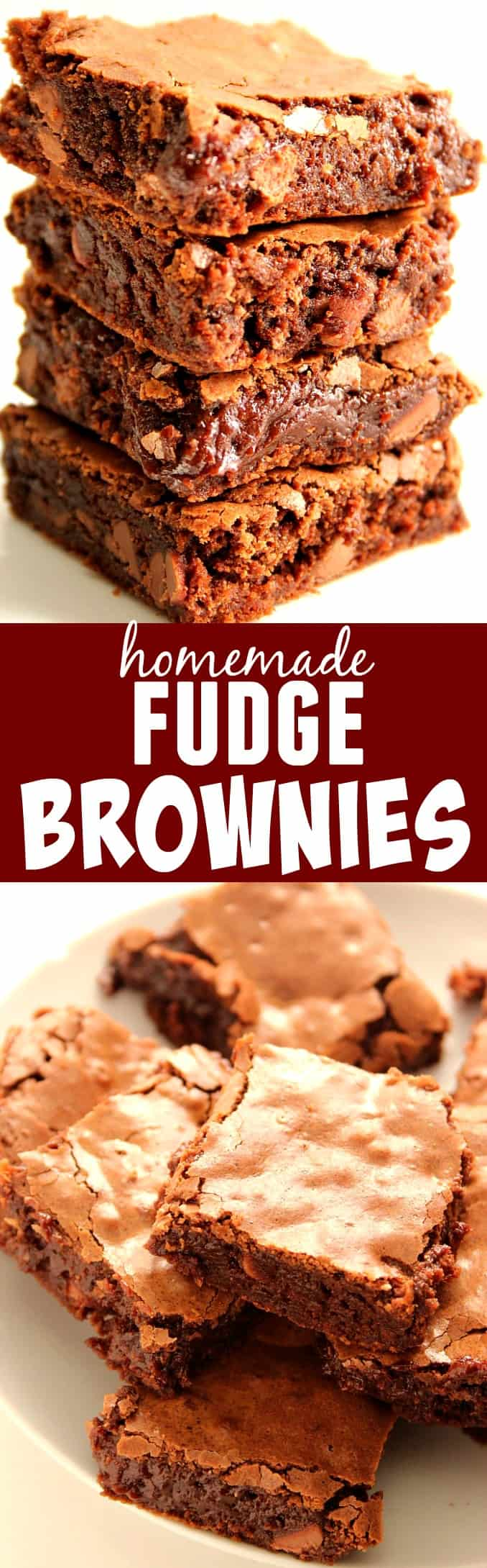 homemade fudge brownies long C Homemade Fudge Brownies Recipe