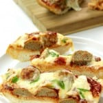 meatball sub bread 4 150x150 Meatball Sub Cheesy Bread Recipe