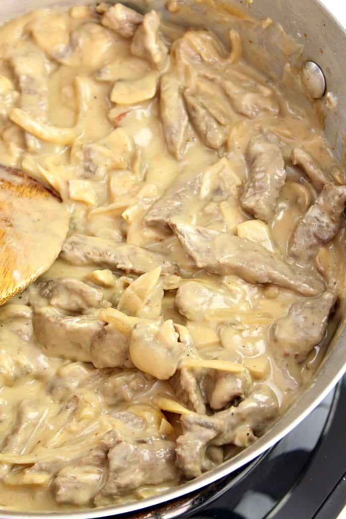 stroganoff 2 20 Minute Beef Stroganoff Recipe