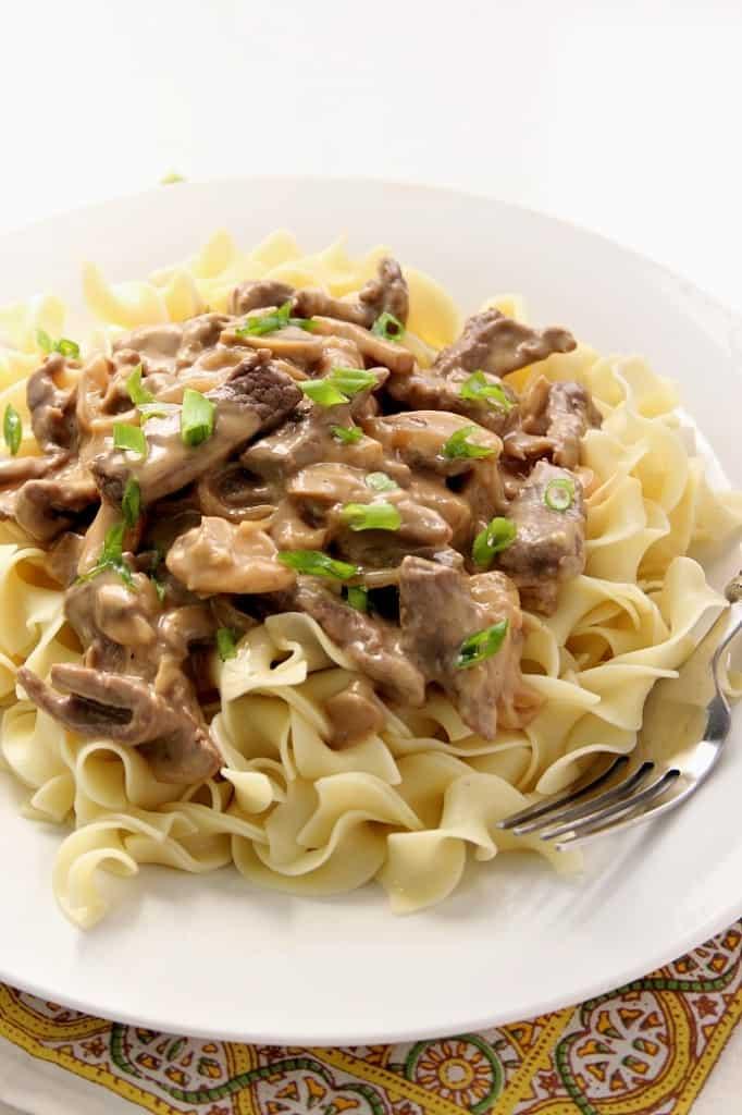 stroganoff 4 682x1024 20 Minute Beef Stroganoff Recipe